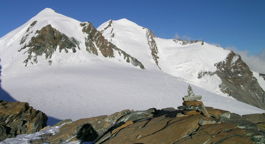 Pollux ( 4092m ) and Castor ( 4228 metres )