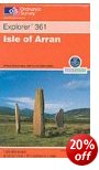 Isle of Arran OS Explorer Map