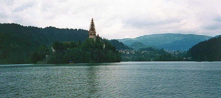 Lake Bled in Slovenia