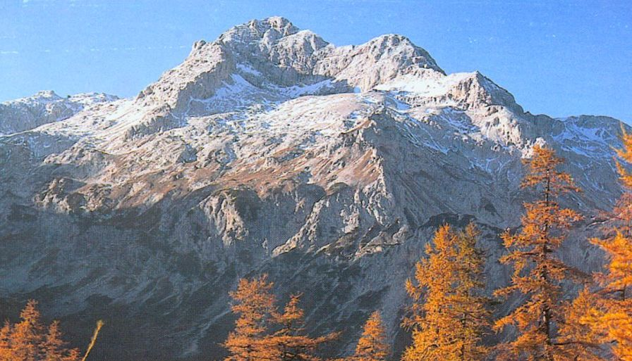 Mt. Triglav in the Julian Alps of Slovenia