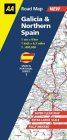 Galicia & Northern Spain - Road Map
