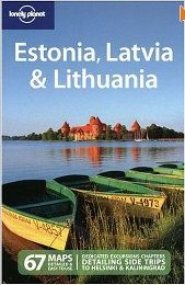 estonia, latvia, lithuania - lonely planet