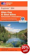 Glen Coe & Glen Etive - OS Explorer Map