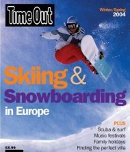 Time Out Ski & Snowboarding Guide - Europe