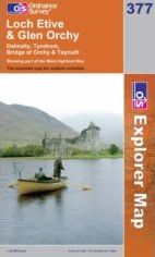 Loch Etive & Glen Orchy OS Explorer Map