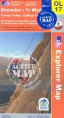Snowdon & Conwy Valley OS Explorer Map