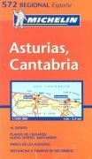 Asturias, Cantabria - Michelin Map
