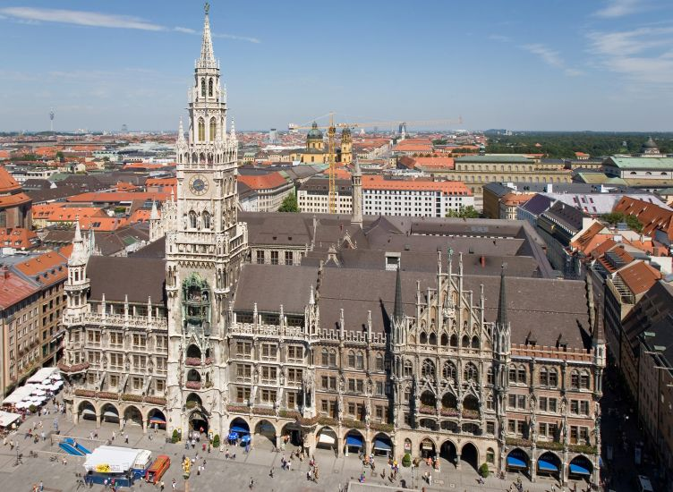 Rat Haus ( City Hall ) in Munich in Bavaria in Germany