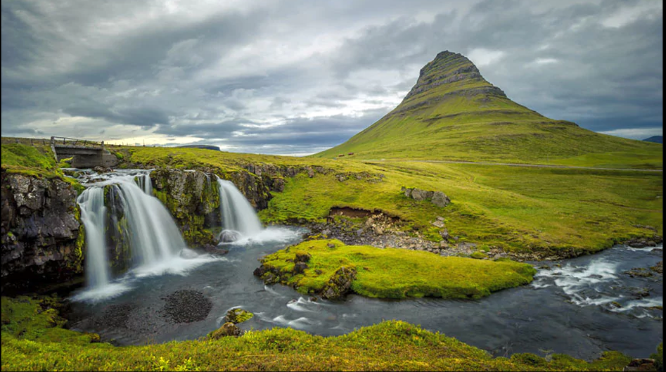Kirkjufell on Snaefellsnes peninsula in Iceland