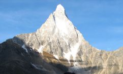 Shivling in the Himalaya of India