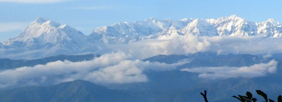 Nanda Devi and the Garwal Himalaya - the highest mountain in India
