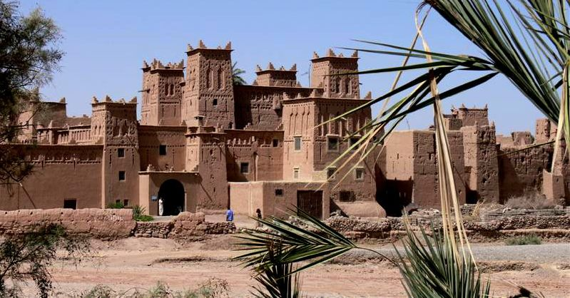 Skoura Morocco  city pictures gallery : Photograph of a Ruined Kasbah at Skoura in the sub sahara of Morocco