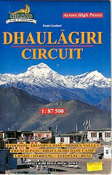 Dhaulagiri Circuit Map