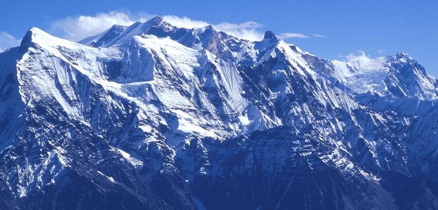 The Annapurna Himal from Thapa Peak