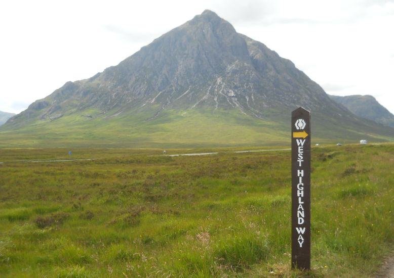 Buachaille Etive Mor from the West Highland Way