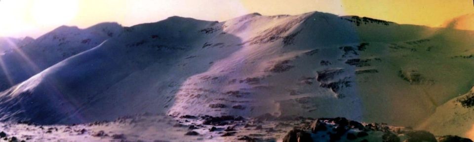 The Grey Corries from Stob Choire Claurigh