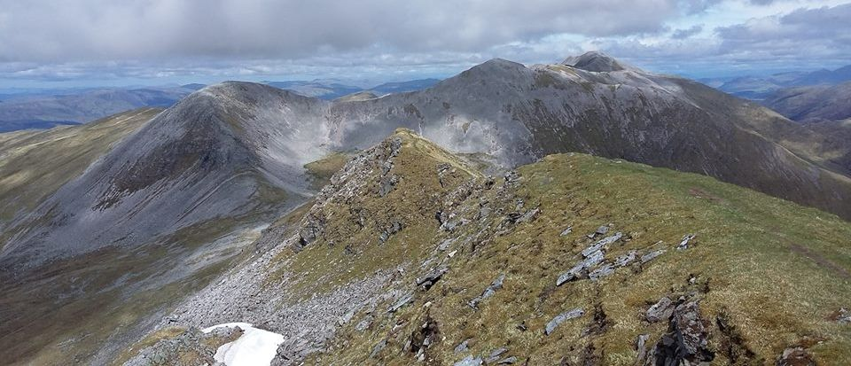 The Grey Corries and Stob Choire Claurigh from the North