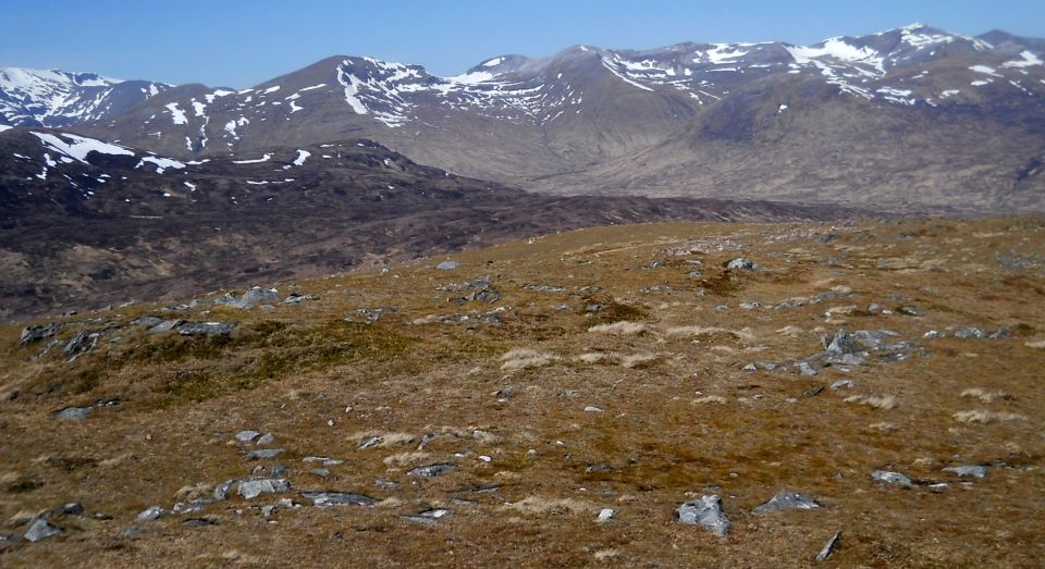 The Grey Corries from Glas Bheinn