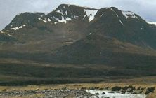Ben Alder in Central Highlands of Scotland