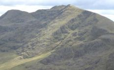 Ladhar Beinn in Knoydart Region of the Scottish Highlands