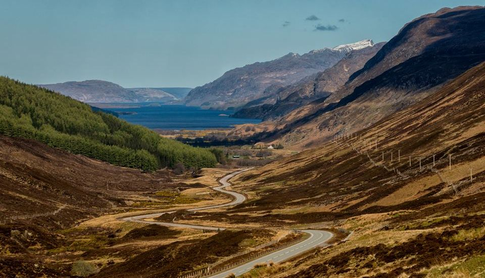 Loch Maree in the North West Highlands of Scotland