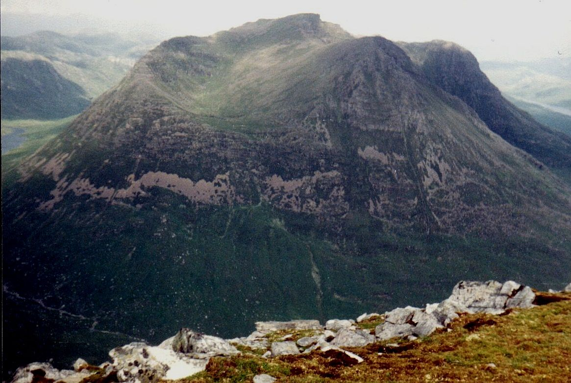 Slioch from Beinn Tarsuinn in the NW Highlands of Scotland