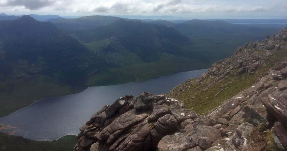 Loch na Sealga from An Teallach