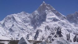 Masherbrum in Pakistan Karakorum