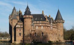 De Haar Castle in Holland