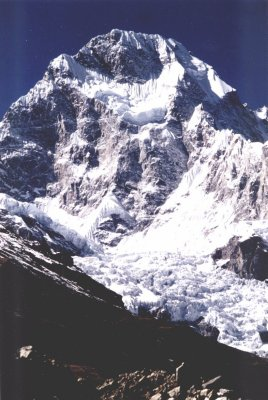 Baudha Peak from the Chhuling Glacier