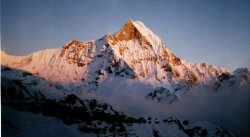 Macchapucchre ( the Fishtail Mountain )