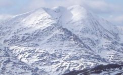 Ben Lomond in Southern Highlands of Scotland