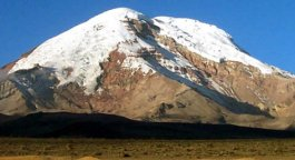 Chimborazo - the highest mountain in Ecuador