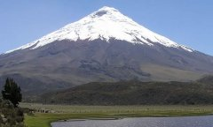 Cotopaxi - second highest mountain in Ecuador