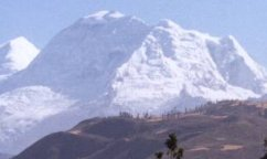Huascaran - highest mountain in Peru