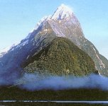Mitre Peak, South Island, New Zealand