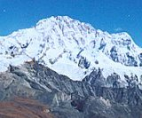 Shisha Pangma in Nepal / Tibet - the world's fourteenth highest mountain