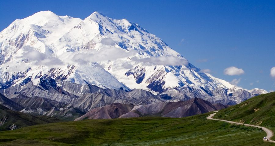 Mount Mckinley / Denali from National Park road