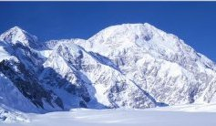 Denali ( Mt. Mckinley ) in Alaska - highest summit in the USA and North America