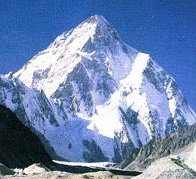 K2 in Pakistan -- second highest summit in Asia and the World