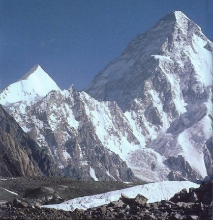 K2 Mountain ... K2 - the highest mountain in Pakistan and the second highest mountain
