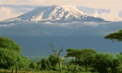Kilimanjaro in Tanzania - highest summit in Africa