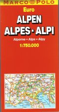 European Alps Map