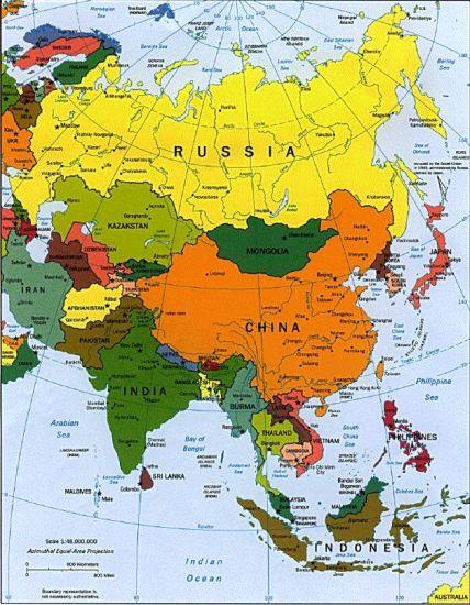 South East Asia Map - China :: Thailand :: Malaysia ...