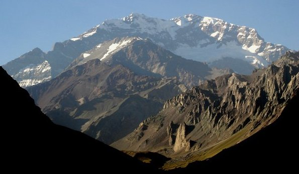 Photo Gallery And Maps Of Mount Aconcagua The Highest
